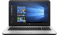 """Ноутбук HP W6Y50EA 15-ay011ur Pentium N3710 (1.6)/4Gb/500GB/15.6"""" HD/Int:Intel HD/DVD-RW/Win10 White Silver"""