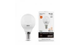 Лампа светодиодная GAUSS _P45_8W/2700K_E14 _шар