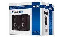 Колонки Sven SPS-721 2.0 черный 50Вт беспроводные BT