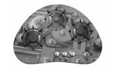 Газовая варочная поверхность Gefest СГ СН 2120 К1 серый