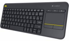Клавиатура Logitech Wireless Touch Keyboard K400 Plus Dark