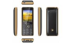 Мобильный телефон teXet TM-D227 черный-золотистый