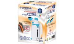 Отпариватель ручной Endever Odyssey Q-419, бело-голубой,