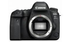 """Зеркальный Фотоаппарат Canon EOS 6D Mark II черный 20.2Mpix 3"""" 1080p Full HD SDXC Li-ion (без объектива)"""