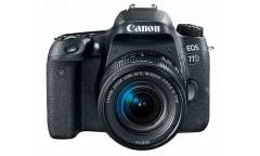 "Зеркальный Фотоаппарат Canon EOS 77D черный 24.2Mpix EF-S 18-55mm f/3.5-5.6 IS STM 3"" 1080p Full HD SDXC Li-ion"