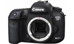 "Зеркальный Фотоаппарат Canon EOS 7D Mark II Body+W-E1 черный 20.2Mpix 3"" 1080p Full HD CF Li-ion"