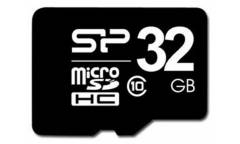 Карта памяти Silicon Power MicroSDHC 32GB Class 4