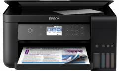 МФУ струйный Epson L6160 (C11CG21404), струйный СНПЧ копир/принтер/сканер A4 Duplex Net WiFi USB