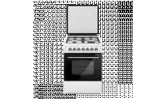 Комбинированная плита Lofratelli OGE 6040 TDS WH белый г/э электроподжиг газконтроль 58л гриль конвекция чр
