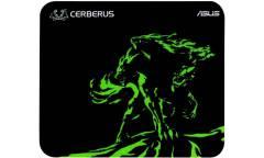 Коврик для мыши Asus CERBERUS MAT MINI черный/зеленый