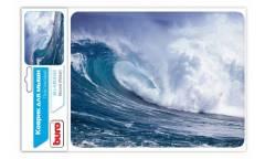 Коврик для мыши Buro BU-M10033 рисунок/волна