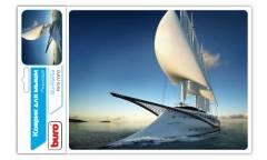 Коврик для мыши Buro BU-R51753 рисунок/яхта
