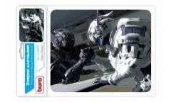 Коврик для мыши Buro BU-S48012 рисунок/роботы