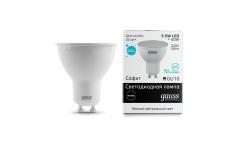 Лампа светодиодная GAUSS _GU10_5.5W/4100K_GU10