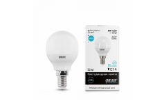 Лампа светодиодная GAUSS _P45_8W/4100K_E14 _шар