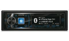 Автомагнитола CD Alpine CDE-178BT 1DIN 4x50Вт