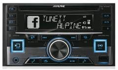 Автомагнитола CD Alpine CDE-W296BT 2DIN 4x50Вт