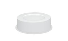 Панель светодиодная круглая ASD NRLP-eco 8Вт 160-260В 4000К 640Лм 120мм белая накладная IP40 IN HOME