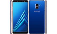 Смартфон Samsung SM-A730F Galaxy A8+ (2018) 32Gb Blue