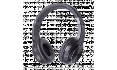 Наушники беспроводные (Bluetooth) Ritmix RH-470BTH накладные c микрофоном черные