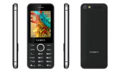 Мобильный телефон teXet TM-D301 черный-серебристый