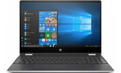 "Трансформер HP Pavilion x360 15-dq1008ur Core i3 10110U/8Gb/SSD256Gb/Intel UHD Graphics/15.6"" UWVA/Touch/FHD (1920x1080)/Windows 10/silver/WiFi/BT/Cam"