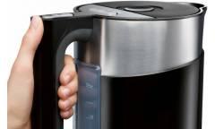 Чайник Bosch TWK861P3RU 1.5л. 2400Вт черный (пластик) (плохая упаковка)