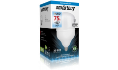 Светодиодная (LED) Лампа Smartbuy-HP-75W/6500/E27