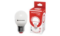 Лампа светодиодная ЭКО_Экономка _GL45_9W/4500K_ E27 _ШАР