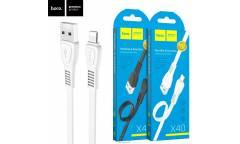 Кабель USB Hoco X40i Noah Lightning (белый)