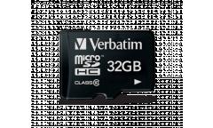 MicroSDHC флэш-накопитель 32GB Class 10 Verbatim