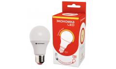 Лампа светодиодная ЭКО_Экономка _А60_20W/3000K_E27 _Стандарт
