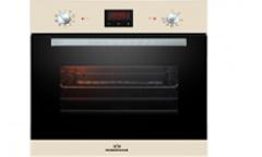 Духовой шкаф электрический RODMANS BOE 6605 BG бежевый 64л гриль конвекция 6режимов дисплей