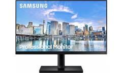 """Монитор Samsung 27"""" LF27T450FQIXCI черный IPS LED 16:9 HDMI полуматовая HAS Pivot 250cd 178гр/178гр 1920x1080 DisplayPort FHD USB 4.6кг (RUS)"""