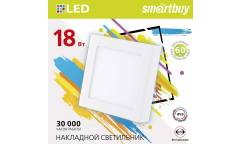 Встраиваемый (LED) светильник DL Smartbuy Sguare-18w/6500K/IP20 _220х10мм (вр.отв.205мм) _квадрат/30