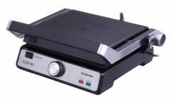Гриль контактный Starwind SSG9516 2200Вт серебристый