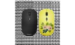 mouse CANYON Wireless со съемной панелью: Розы