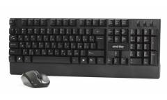 Комплект клавиатуара+мышь Smartbuy Wireless One113347AG черный