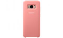 Оригинальный чехол (клип-кейс) для Samsung Galaxy S8 Silicone Cover розовый (EF-PG950TPEGRU)