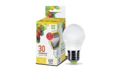 Лампа светодиодная ASD LED-ШАР-standard 3.5Вт 160-260В Е27 3000К 320Лм