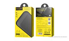 Внешний аккумулятор Hoco Graceful Energy Wreless  J14-10000 mAh Black (Функция беспроводной зарядки)