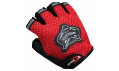 Классические спортивные перчатки полу-палец KniohThood (Красный)