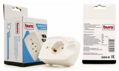 Сетевой фильтр Buro 100SH-W (1 розетка) белый (коробка)