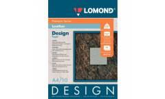"""Фотобумага Lomond A4 230г/м2, Premium мат. с дизайном """"Кожа"""", 10л"""