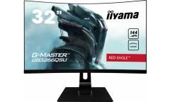 """Монитор Iiyama 31.5"""" Red Eagle GB3266QSU-B1 черный VA LED 1ms 16:9 HDMI DisplayPor (плохая упаковка)"""