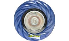 Светильник точечный_DE FRAN_ FT 819 Bu MR16 матовый синий керамика