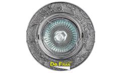 Светильник точечный_DE FRAN_ FT 834 MR16 хром+серебро