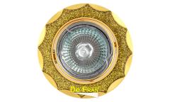 Светильник точечный_DE FRAN_ FT 837A MR16 золото+желтый