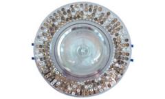 Светильник точечный_DE FRAN_ FT 526 MR16 хром зеркальный+стразы бежевый