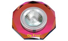 Светильник точечный_DE FRAN_ FT 846 MR16 цветное стекло